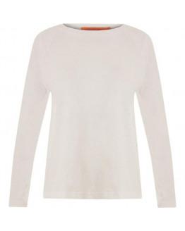 Longsleeved T-shirt w. raglan sleeves
