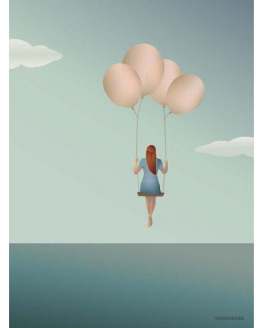 Balloon Dream Poster 50x70cm