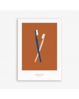 Greeting Card A5 Toothbrushes