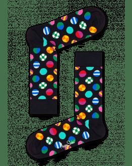 Clashing Dot Sock