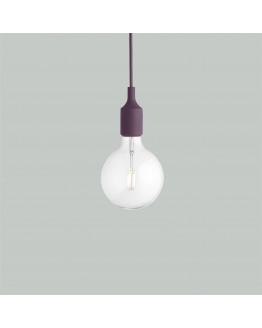 E27 Burgundy LED