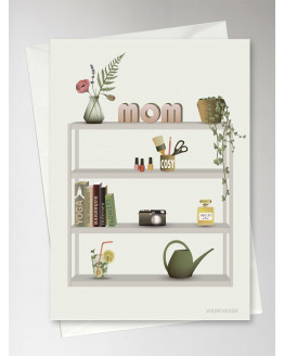 Mom's Favourites Greeting Card 15x21cm
