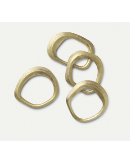 Flow Napkin Rings Set of 4
