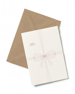Greeting Card Bow