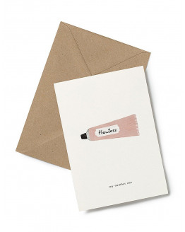 Greeting Card Cream