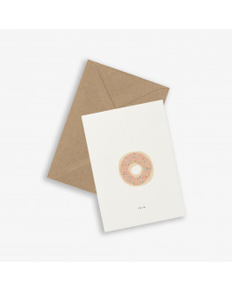 Greeting Card DONUT