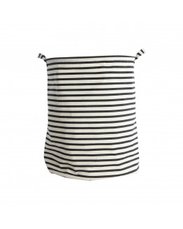 Laundry bag Stripes Dia.: 40 cm h.: 50 cm