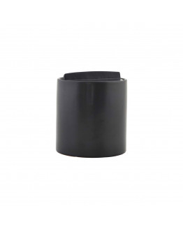 Jar Kitchen Matte black h.: 13,5 cm