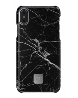 Iphone X Case - Black Marble
