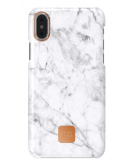 Iphone X Case - White Marble