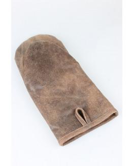 BBQ Glove 17x33cm Brown