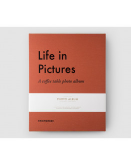 Salontafel Fotoalbum Life in pictures Large