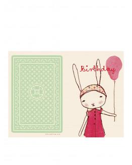 Happ Birthday Girl Single Card