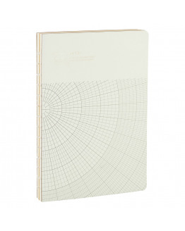 Notebook Geometic Light Grey 17,7x25,2cm