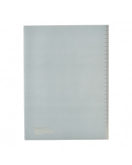 Notebook Soft Blue A4 lined paper