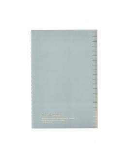 Notebook Soft Blue A5 dotted paper
