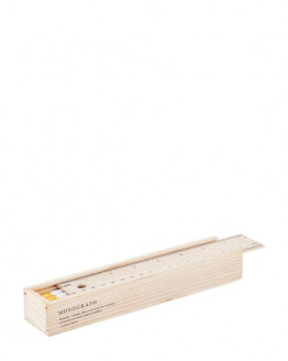 Pencil w. eraser White 12 pcs./box
