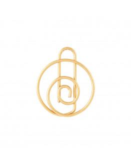 Clip Shape brass 15 pcs./pck