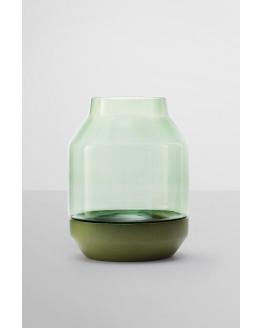 Elevated Vase Green