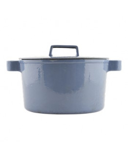 Pot w/lid 5,5l Blue