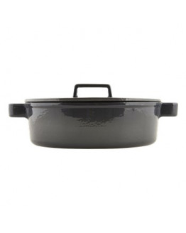 Deep Pan w/lid 4,8l, Grey