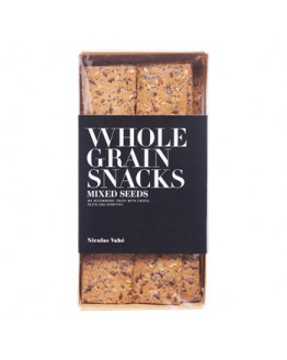 Wholegrain Crackers w/mixed seeds 100 gr.