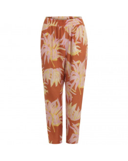 Pants in hyper tropic print