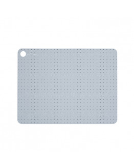 PLACEMAT PALE GREY BLUE 2 PCS. 110079