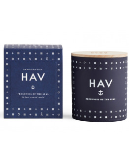 HAV 190 GR SCENTED CANDLE WITH LID