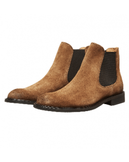 SLHBaxter Chelsea Suede Boot