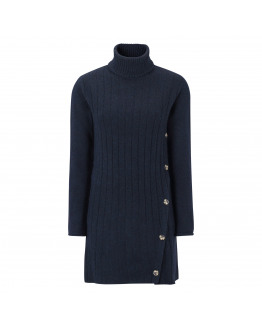 Claire Rollneck Long Knit