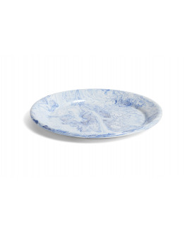 SOFT ICE DINNER PLATE BLUE