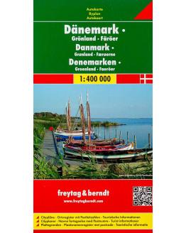 Freytag & Berndt Denemarken - Groenland - Faroer  1/400