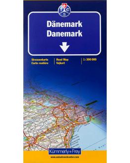 Kummerly + Frey  Denemarken  1/300
