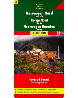 Freytag & Berndt Noorwegen Noord 1/400