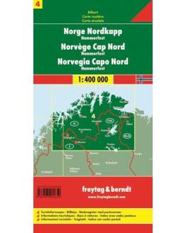 Freytag & Berndt Noorwegen Noordkaap - Hammerfest  1/400