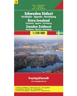 Freytag-Berndt Zweden / Zuidoost - Stockholm-Uppsala-Norrköping