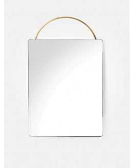 Adorn Brass Mirror Face