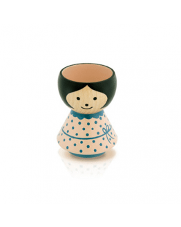 Eggcup Bordfolk Girl Rose