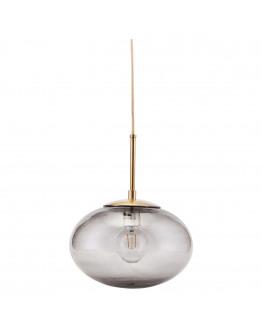 Lamp Opal Grey - d: 30cm h: 35cm