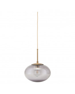 Lamp Opal Grey - d: 22cm h: 17cm