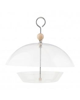 Bird feeder, Dome, dia: 30 cm, h: 28 cm h: 28 cm