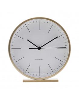 Clock, Hannah, Gold, dia: 15 cm