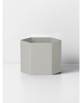 Hexagon Pot XL - Light Grey