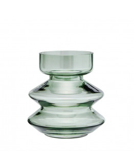 STACKABLE GLASS VASE 13,5x14,5cm