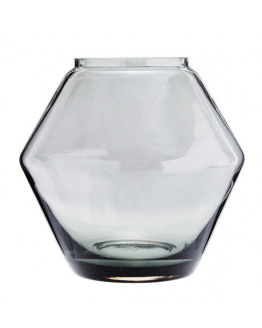 STACKABLE GLASS VASE 22x20,5cm