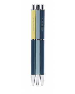 Pencil Push ass. 3 pcs/pack