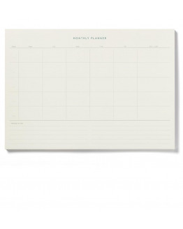 Notepad Monthly Planner