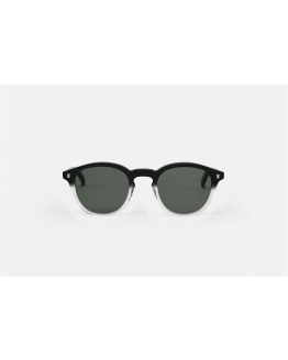 NELSON Black/Chrystal Solid Green