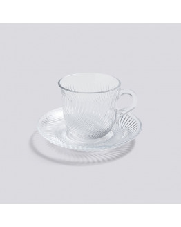 PIROUETTE CUP AND SAUCER 150ML
